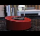 Биокамин GLASS OVALE Rosso