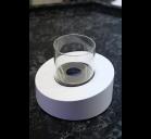 Биокамин GLASS OVALE Bianco