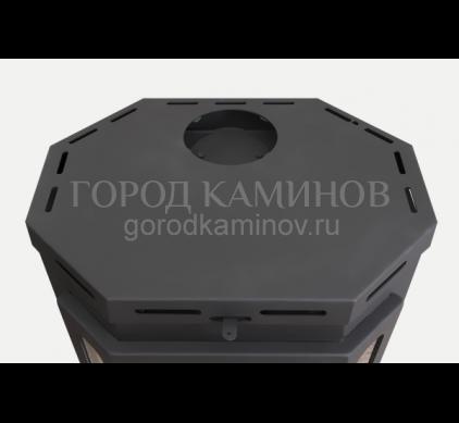 Печь-камин БАВАРИЯ ПРИЗМАТИК пристенно угловой