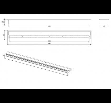 Топливный блок BioKer 100см 5L